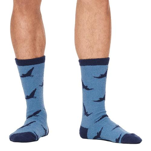 UGG Men's Clint Novelty Crew Socks Navy