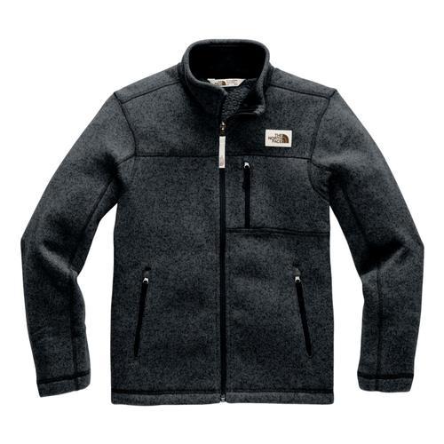 The North Face Boys Gordon Lyons Full-Zip Fleece Tnfblk_ks7