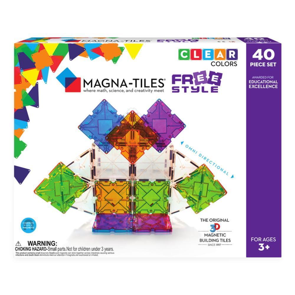 Magna- Tiles Freestyle 40- Piece Set