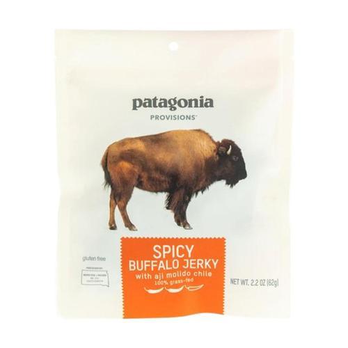 Patagonia Provisions Spicy Buffalo Jerky .