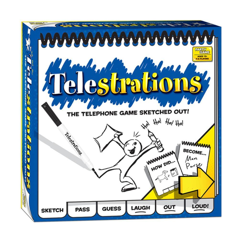 Usaopoly Telestrations 8 Player : The Original Game