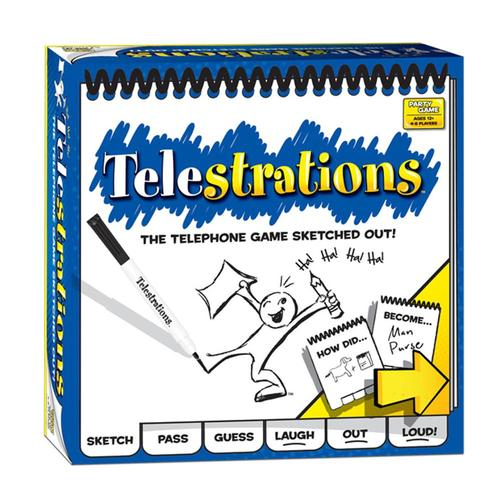 USAopoly Telestrations 8 Player: The Original Game