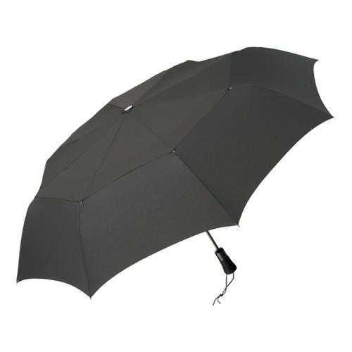 ShedRain WindPro Vented Auto Open/Close Jumbo Compact Umbrella Charcoal