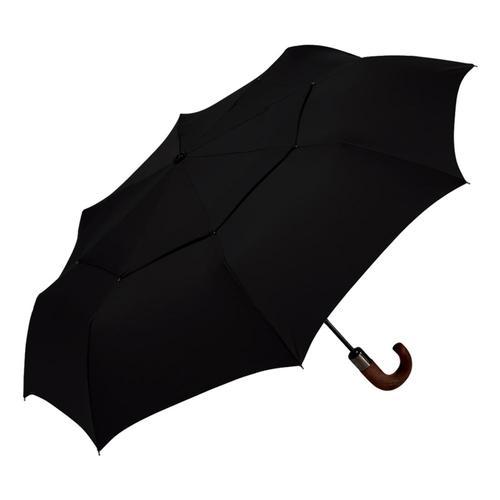 ShedRain WindPro Vented Auto Open/Close Compact Umbrella Black