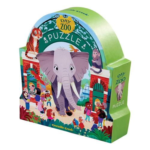 Crocodile Creek Zoo Day at the Museum Jigsaw Puzzle