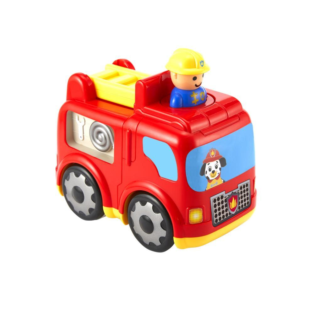 Kidoozie Press ' N Zoom Fire Engine