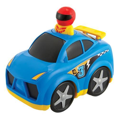 Kidoozie Press 'N Zoom Race Car