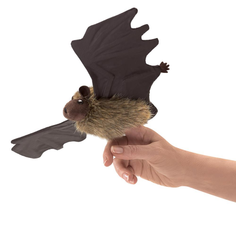 Folkmanis Little Brown Bat Finger Puppet