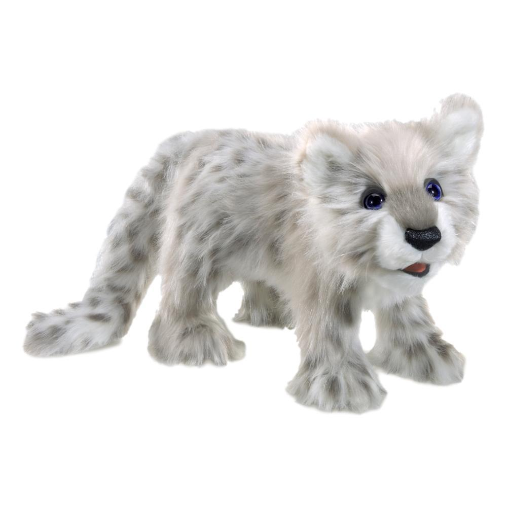 Folkmanis Snow Leopard Cube Hand Puppet