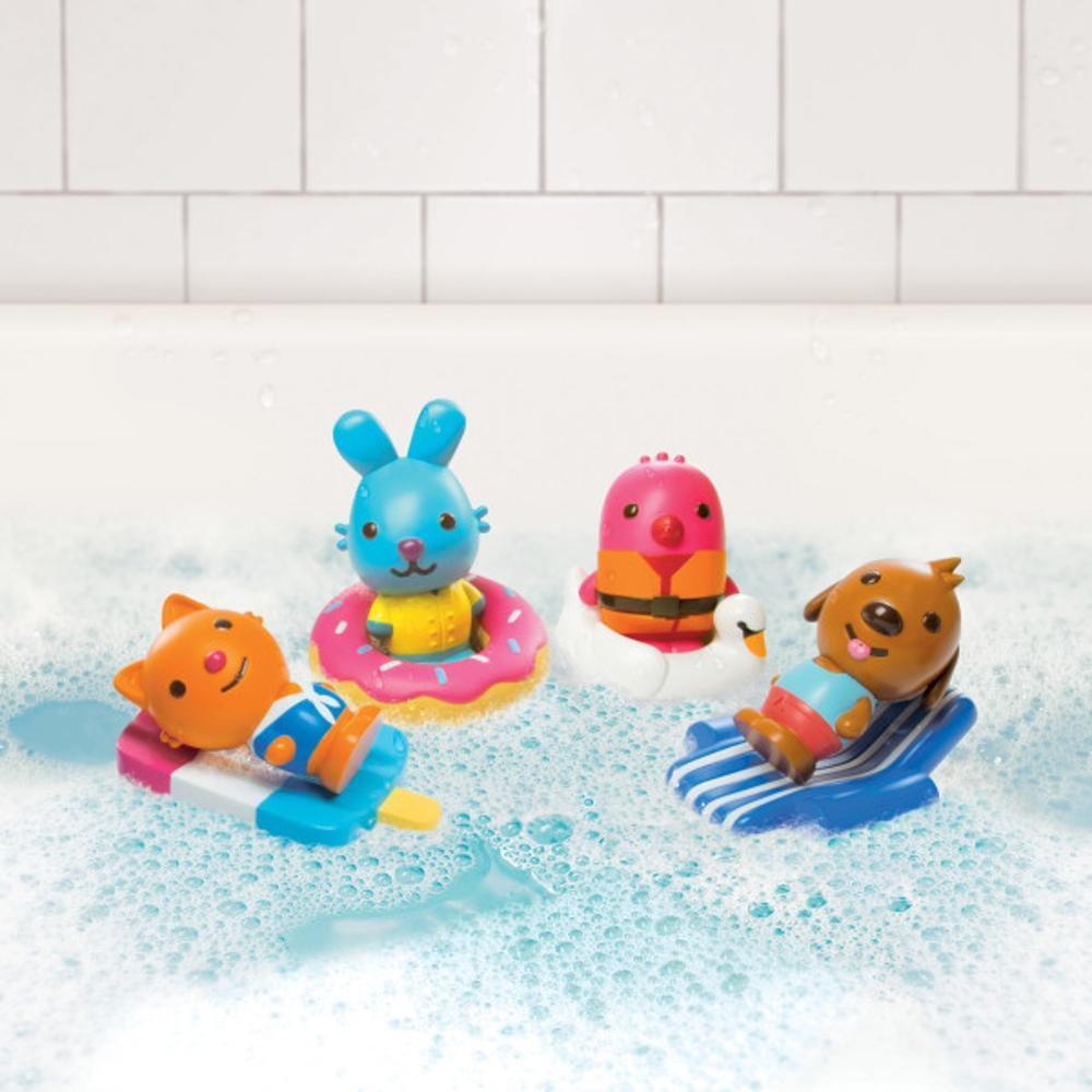 Sago Mini Easy Clean Bath Squirters And Floaties