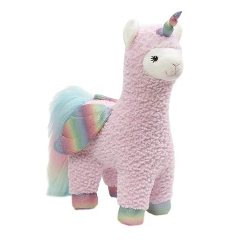 Gund Rainbow Sparkles Llamacorn w/ Wings 15.5in