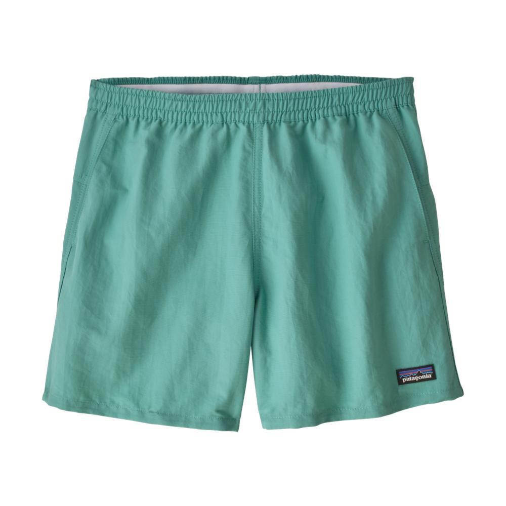 Patagonia Women's Baggies Shorts - 5in Inseam GREEN_LBYG