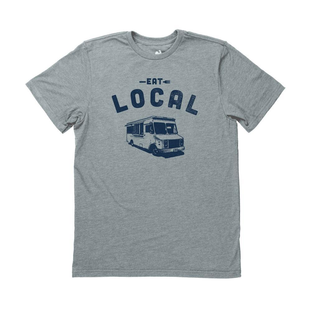 Locally Grown Unisex Eat Local-Food Van Tee GLADE