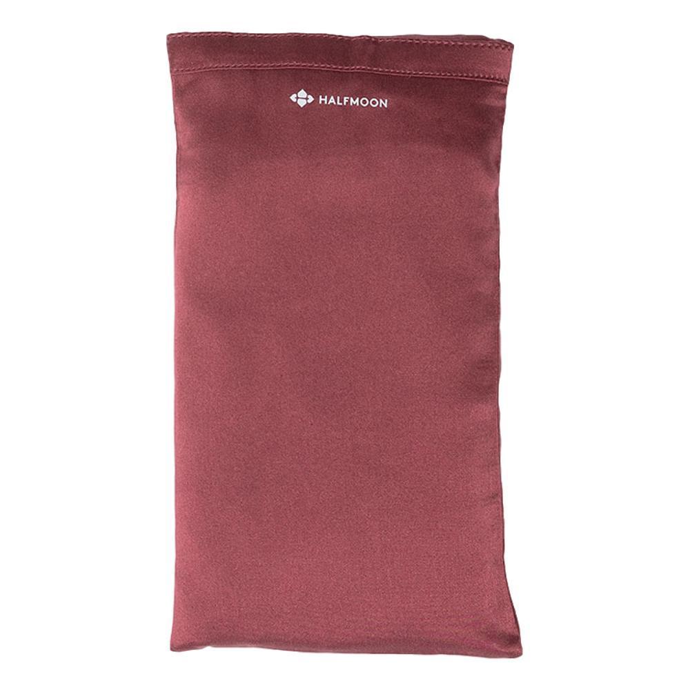 Halfmoon Silk Eye Pillow GARNET_LAVENDAR
