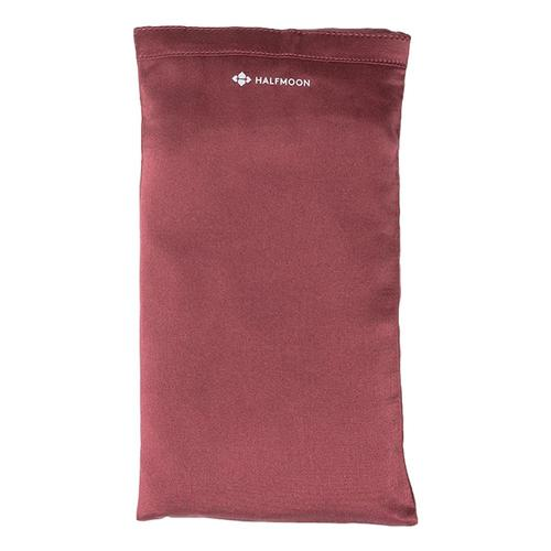 Halfmoon Silk Eye Pillow Garnet_lavendar