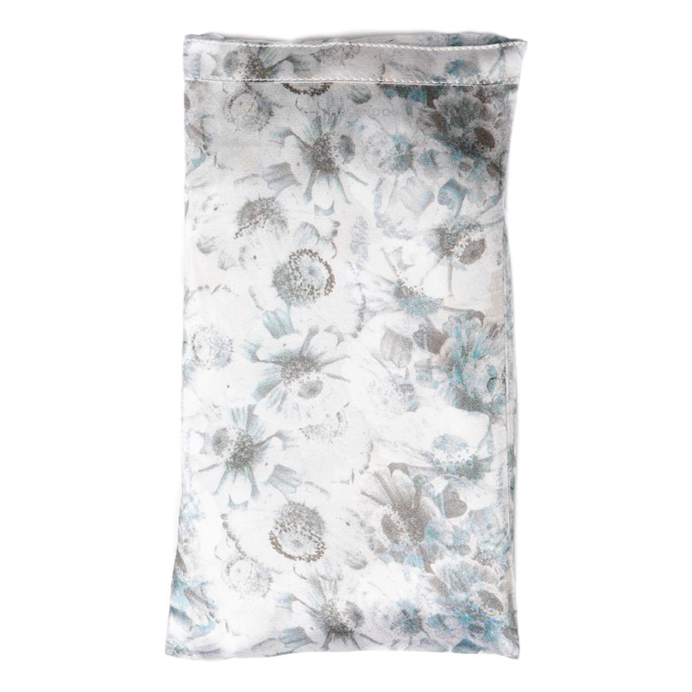 Halfmoon Silk Eye Pillow - Limited Edition SNOW.FLWR_LAVENDAR