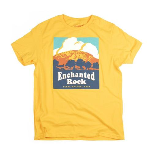 The Landmark Project Kids Enchanted Rock Tee Gold