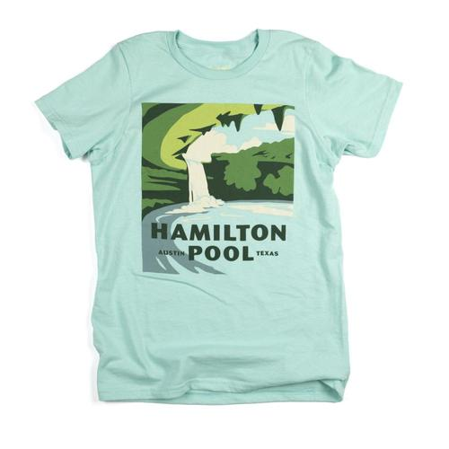 The Landmark Project Kids Hamilton Pool Tee Chill