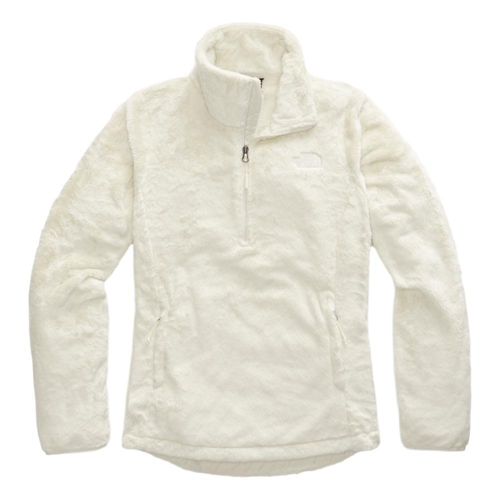 The North Face Women's Osito 1/4 Zip Pullover WHITE_11P