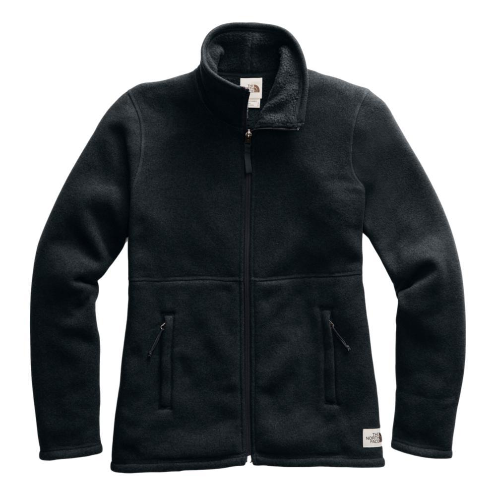 The North Face Women's Crescent Full Zip Jacket BLACK_KS7