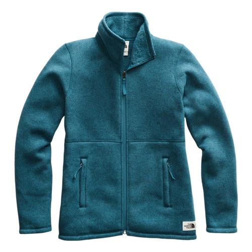 The North Face Women's Crescent Full Zip Jacket Bluecoral_1bt