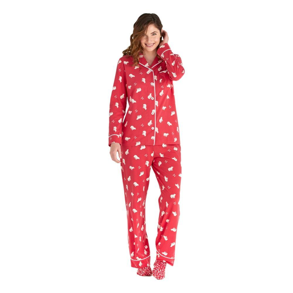 Life is Good Women's Polar Bear LIG Sleep Set AMERICANA