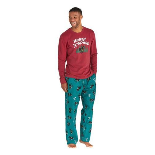 Life is Good Men's X-Moose Classic Sleep Pants Greenmoose
