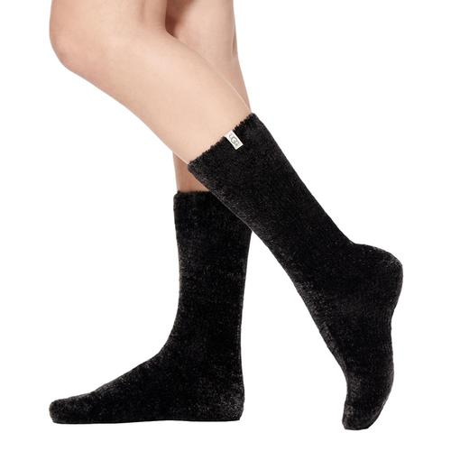 UGG Leda Cozy Socks Black_blk