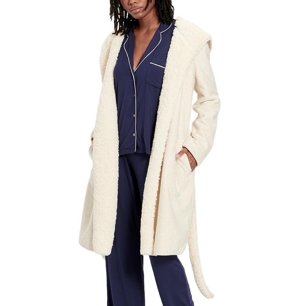 UGG Women's Portola Reversible Robe CREAMHTHR