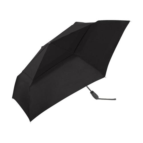 ShedRain WindPro Flatwear Vented Auto Open & Close Compact Wind Umbrella Black