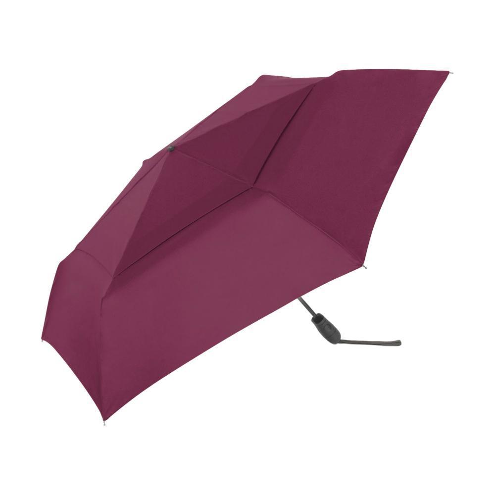 ShedRain WindPro Flatwear Vented Auto Open & Close Compact Wind Umbrella BORDEAUX