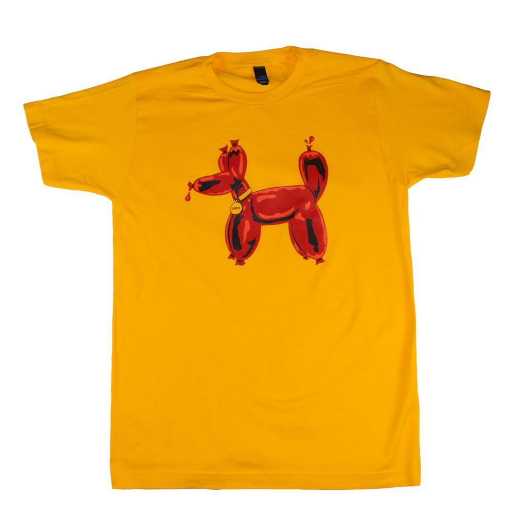 BarbacoApparel Chorizo Dog T-Shirt GOLD
