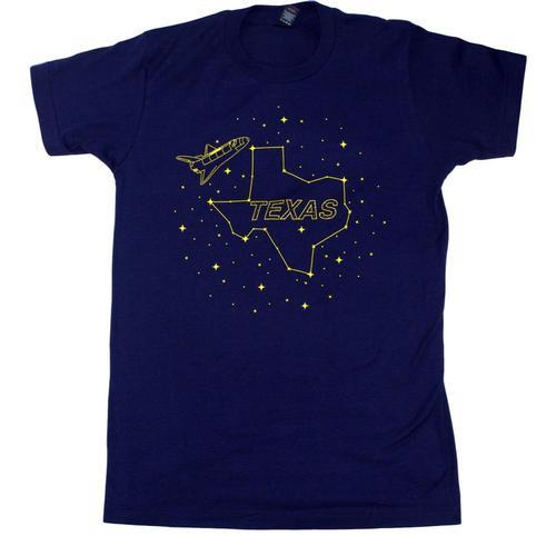 BarbacoApparel Stars at Night T-Shirt Navy