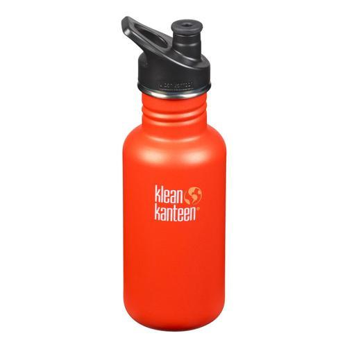Klean Kanteen Classic Bottle w/Sport Cap - 18oz Sierra_sunset