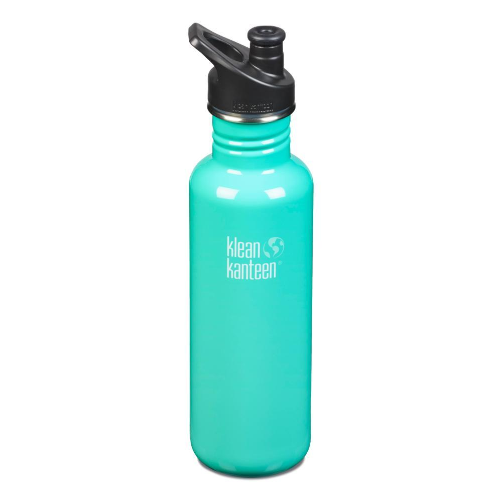 Klean Kanteen Classic Bottle w/Sport Cap - 27oz SEA_CREST