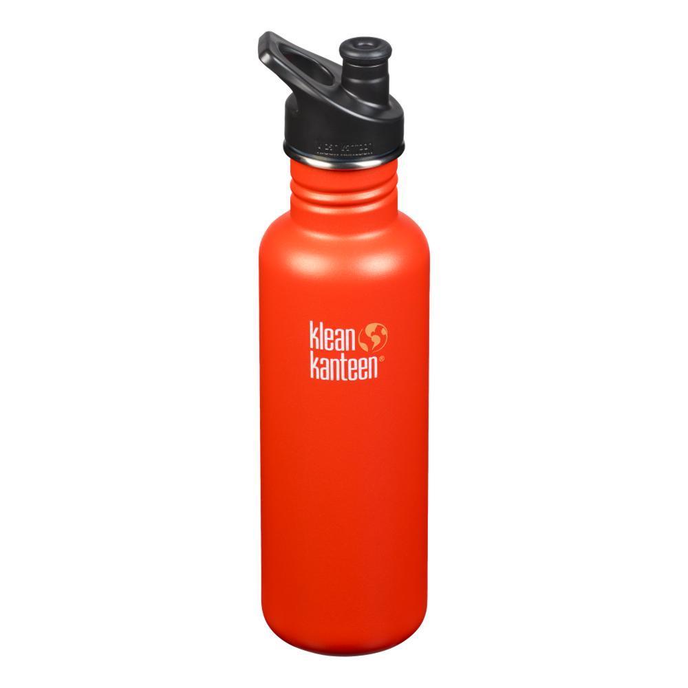Klean Kanteen Classic Bottle w/Sport Cap - 27oz SIERRA_SUNSET