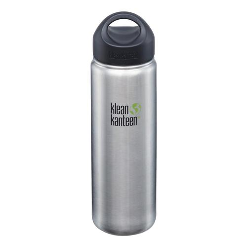 Klean Kanteen Wide Bottle w/Loop Cap - 27oz Brushed.Stnls