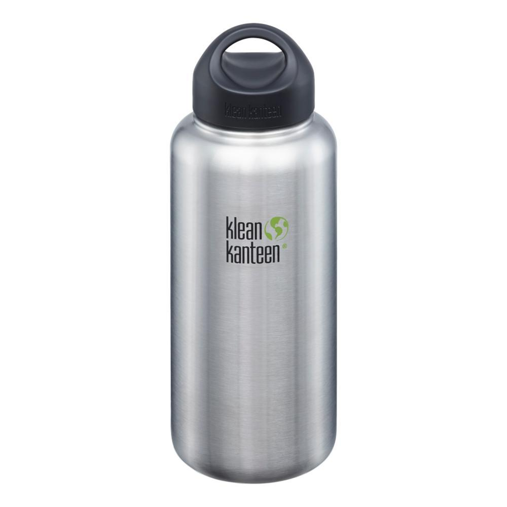 Klean Kanteen Wide Bottle w/Loop Cap - 40oz BRUSHED.STNLS