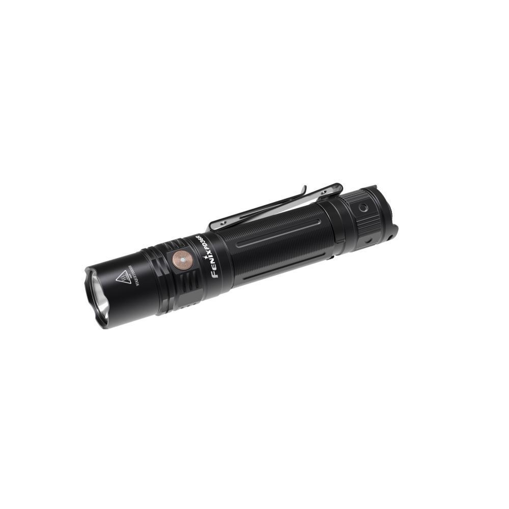 Fenix PD36R Rechargeable 1600-Lumen Tactical Flashlight BLACK