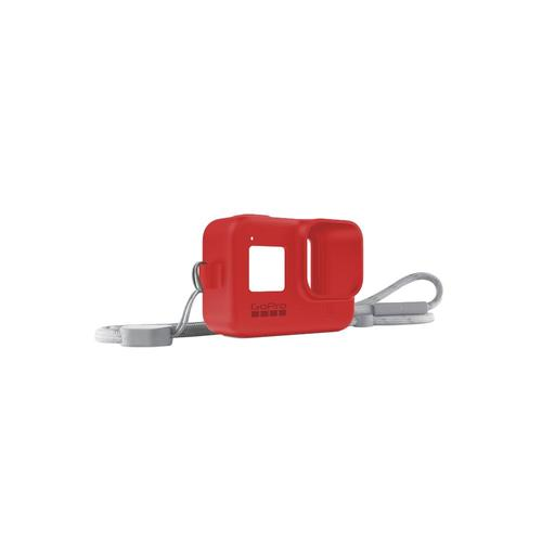 GoPro Sleeve + Lanyard Firecracker_red
