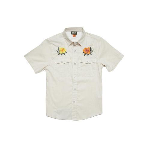 Howler Brothers Kids Gaucho Shortsleeve Shirt Hibiscus