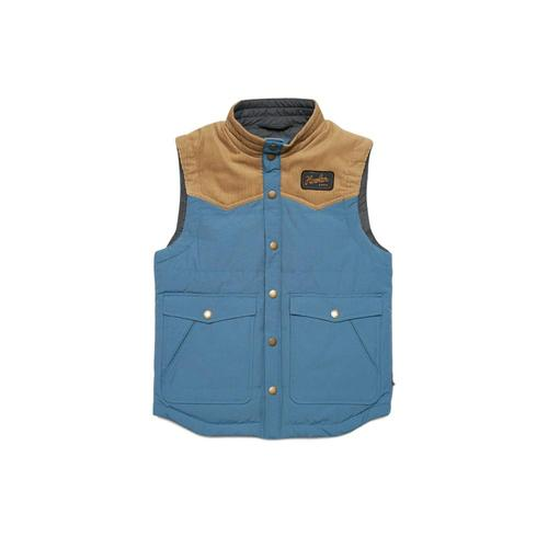 Howler Brothers Kids Rounder Vest Blu_khaki
