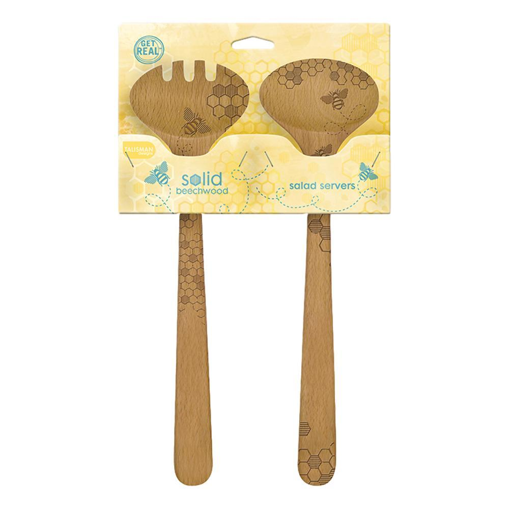 Talisman Designs Honey Bee Salad Set