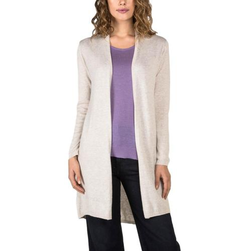 Indigenous Designs Women's Organic Essential Knit Cardigan Oatmeal