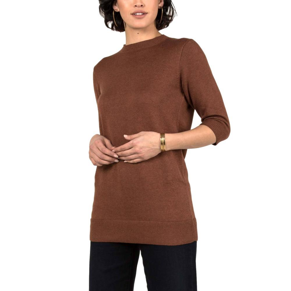 Indigenous Designs Women's Elbow Sleeve Tunic CAYENNE