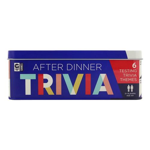 Ginger Fox Games After Dinner Trivia Tin