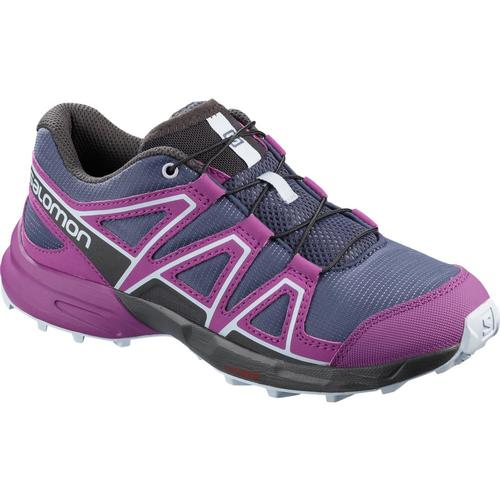 Salomon Kids Speedcross Shoes Bluegrape