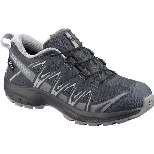Salomon USA Kid's XA Pro 3D WP Shoes Ebony