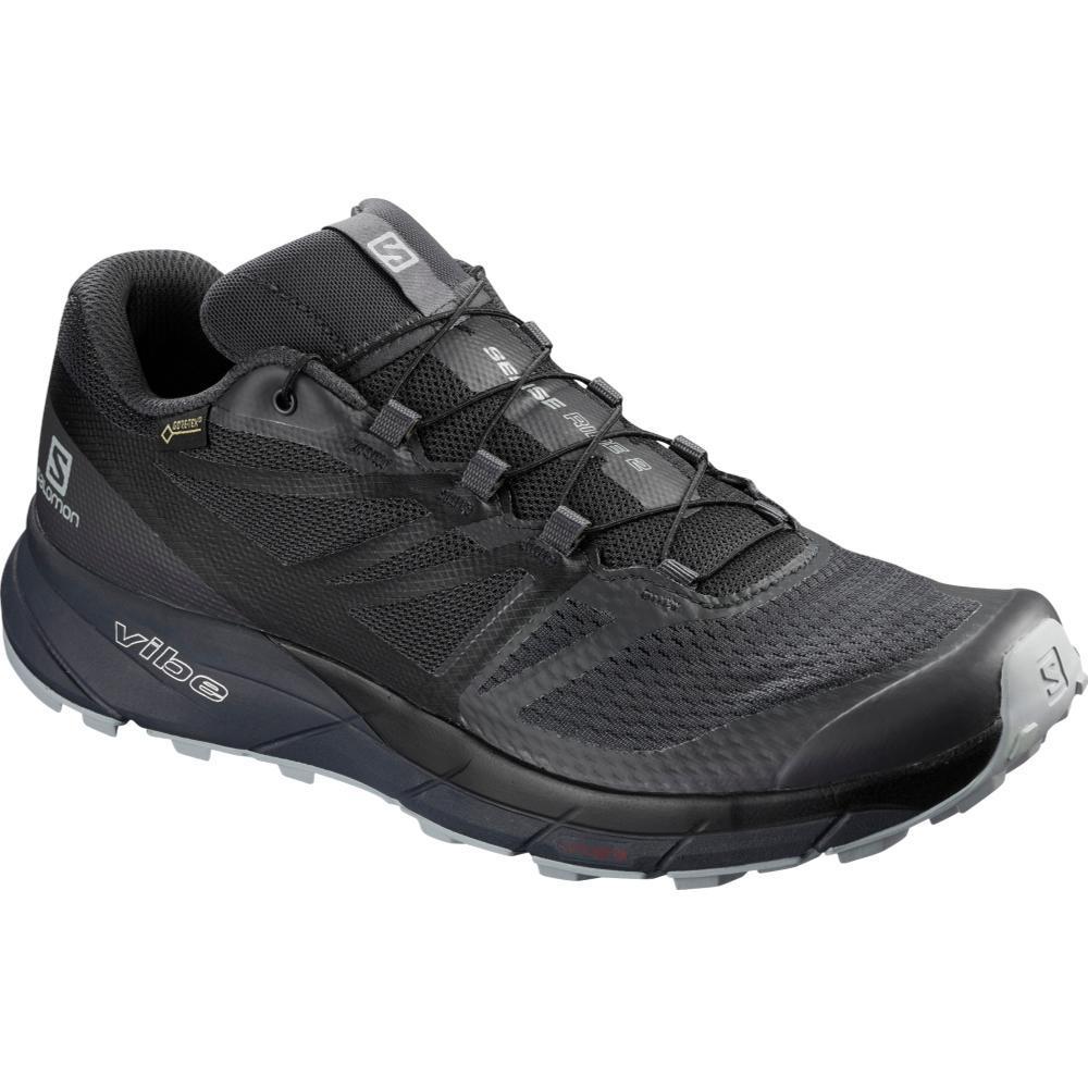 Salomon USA Men's Sense Ride2 GTX Invisible Fit Shoes EB.BLK.QURY