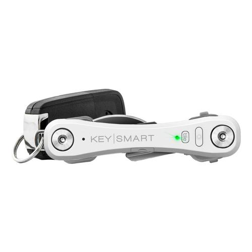 KeySmart Pro with Tile Smart Location Tracking White